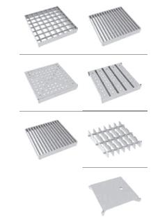 Roste für Kastenrinne 200 - Rahmenaußenmaß 300 x 300