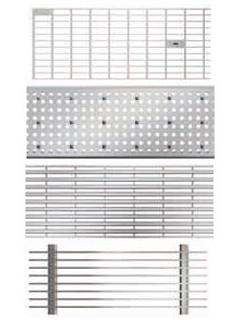 Roste für Profiline Baubreite 250 - Edelstahl