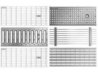 Roste für Profiline Baubreite 130 - Stahl verzinkt