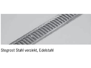 Roste für Profiline Baubreite 200 - Edelstahl