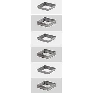 Aufsätze für Dachabläufe aus verzinktem Stahl