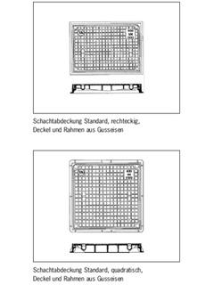 Schachtabdeckungen