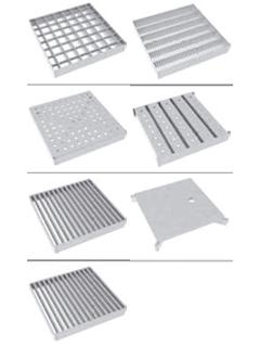 Roste für Schlitzrinne 20 - Rahmenaußenmaß 250 x 250