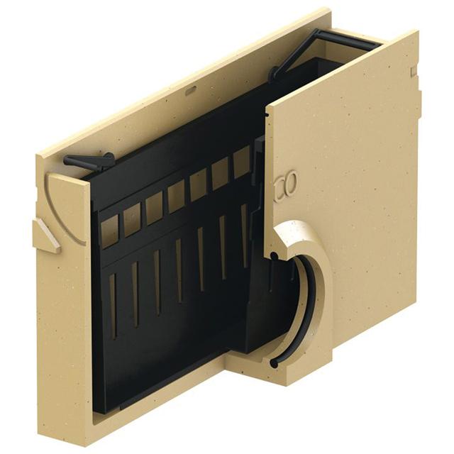 Einlaufkasten ohne Rost 500 mm