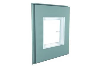 ACO Therm® Block mit integrierter Fensterzarge ohne Flügel (dwd Montage)