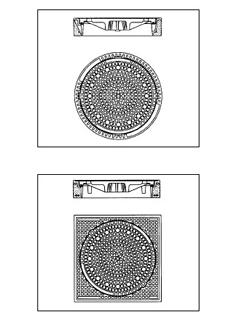 Classictop - BEGU Rahmen / Gusseisen Deckel