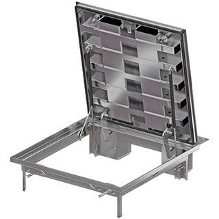 Schachtabdeckungen Servokat GD - Stahl verzinkt