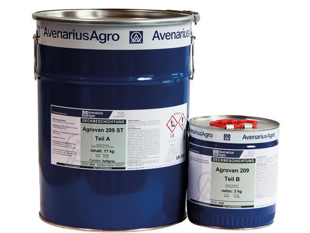 Artikelbild AVE Agrovan 209ST grau 20kg