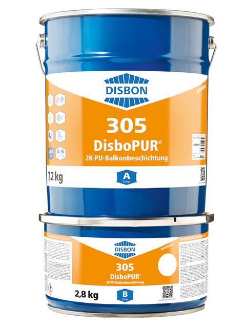DisboPUR 305 2K-PU-Balkonbeschichtung