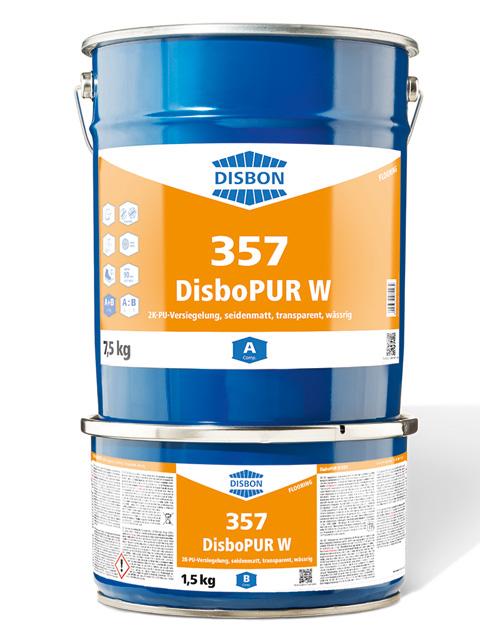 DisboPUR W 357 2K-PU-Versiegelung