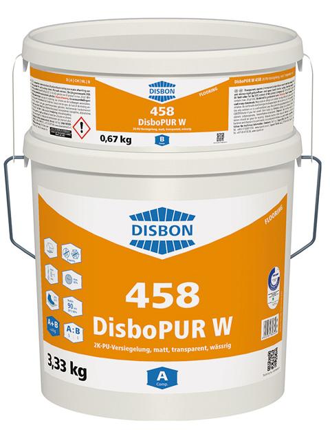 DisboPUR W 458 2K-PU-Versiegelung