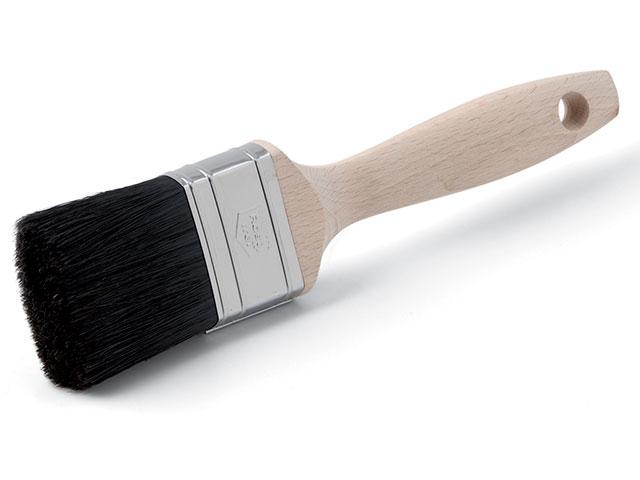 Lackpinsel XX.- 12.Stärke, Monoblock schwarz