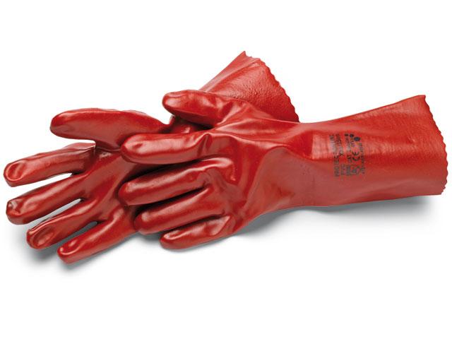 Handschuhe, PVC lang