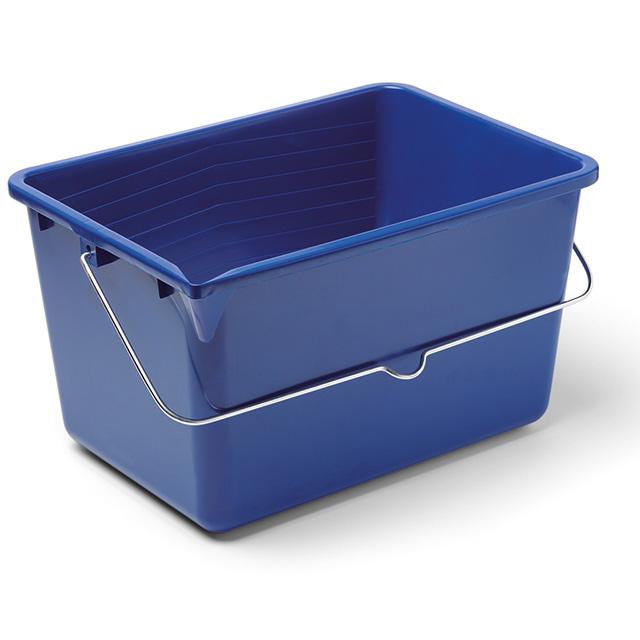 Farbeimer 4-eckig, blau