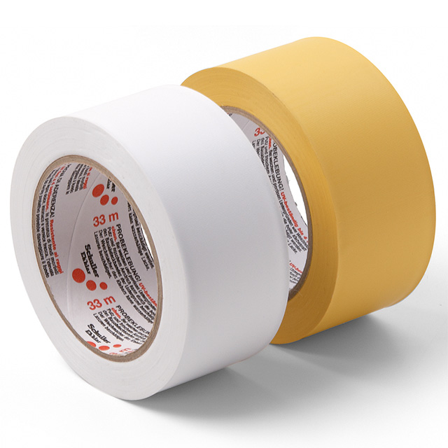 Bauklebeband PVC, quergerillt