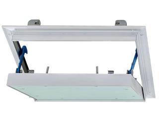 Revisionsklappe Alumatic luft-/staubdicht 2x12,5 mm GKBI/H2
