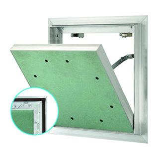 Revisionsklappe AluQuattro® rauch-, luft-, staub- und schlagregendicht GKBI 2x12,5 mm GKBI/H2