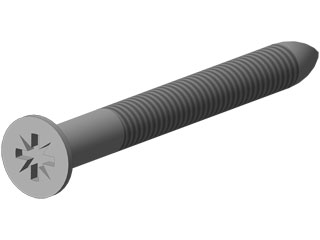 Holzschraube 4,0 x 45 mm