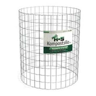 Kompostsilo rund