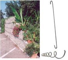 Spiralen für Steinkorb