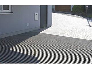 Rasenplatte Linear 12 cm