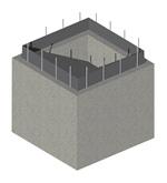 Fertigteil-Pumpensumpf