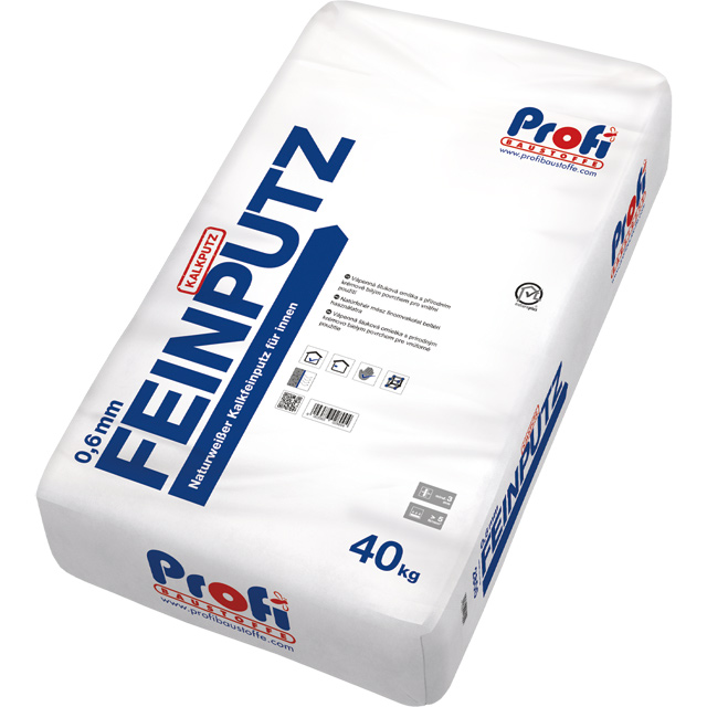 Artikelbild PROFI-Feinputz 0.6 mm 40kg