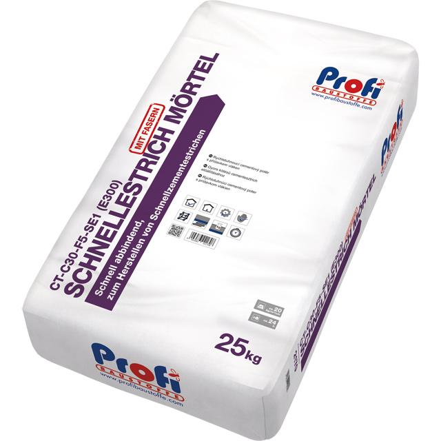 PROFI Schnellestrich Mörtel CT-C30-F5-SE1 (E300)