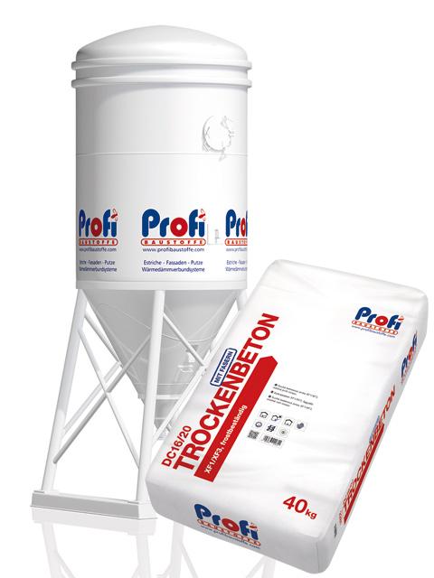 PROFI Trockenbeton DC16/20