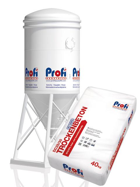 PROFI Trockenbeton DC25/30