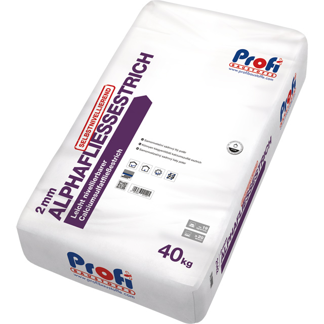 PROFI Alphafliessestrich 2 mm