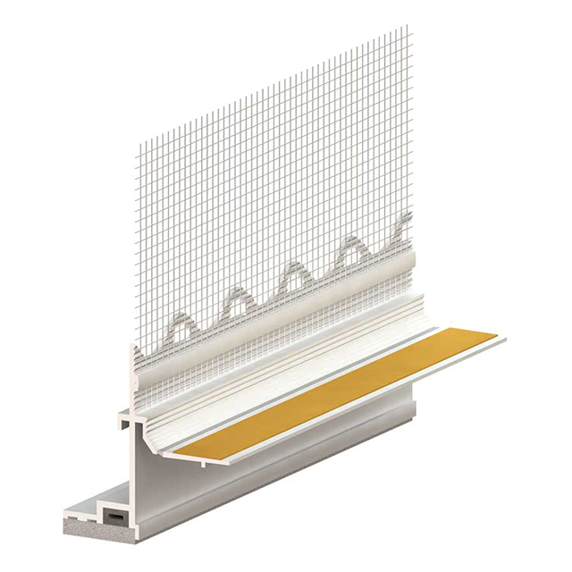 PROFI Fensteranschlussprofil 3D Aluschale PLUS