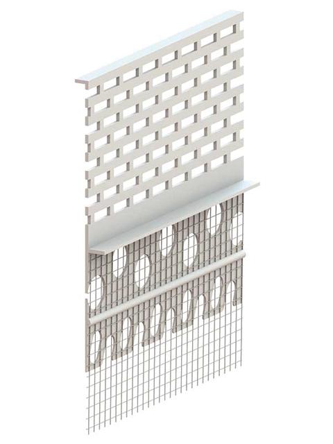 PROFI Dachbelüftungsprofil Standard