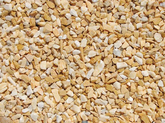 Marmorsplitt, Siena-Gelb