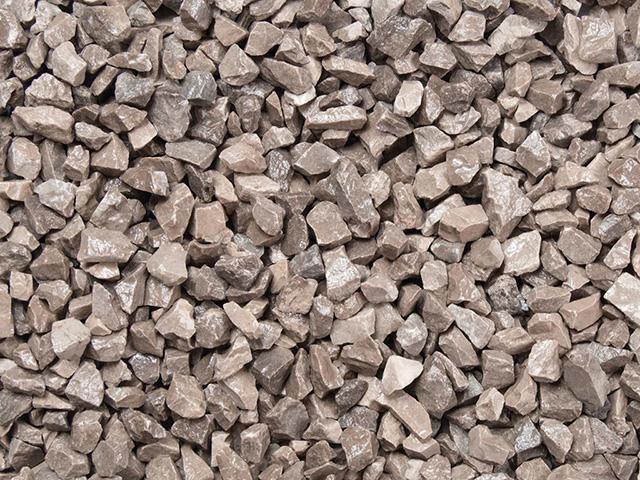 Kalksteinsplitt Maus- Grau