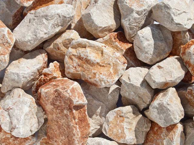 Kalksteinbruch, Dalmatien-Beige