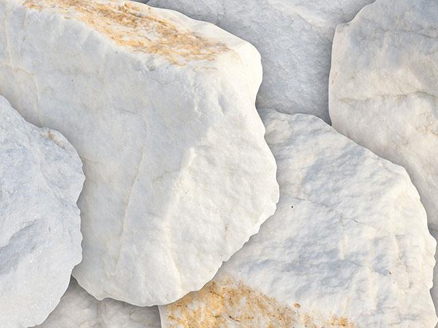 Marmorbrocken, Edel-Weiß