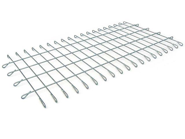 Gabionen-Matte mit Ösen, Maschenweite 5x10 cm