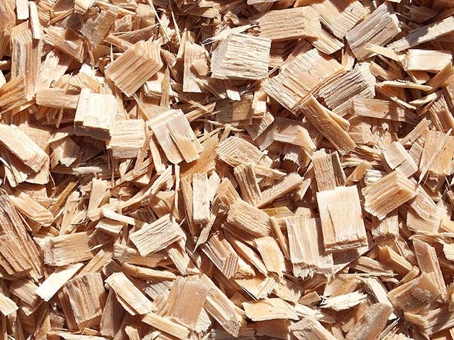 Holzchips, Natur