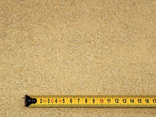 Fugensand (Quarzsand), Beige