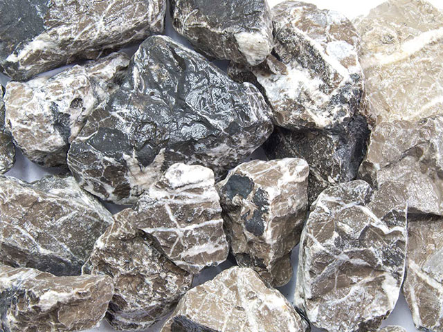 Marmorbruch Grau-Weiß