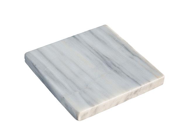Marmor-Trittplatte, Wolken-Weiß