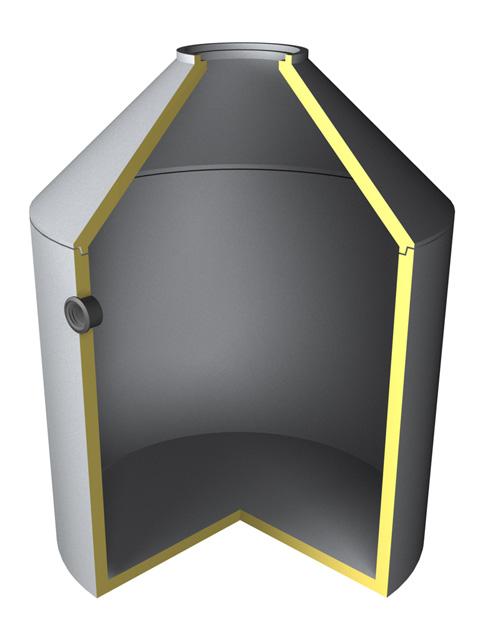 Senkgruben-Kompaktsenkgruben