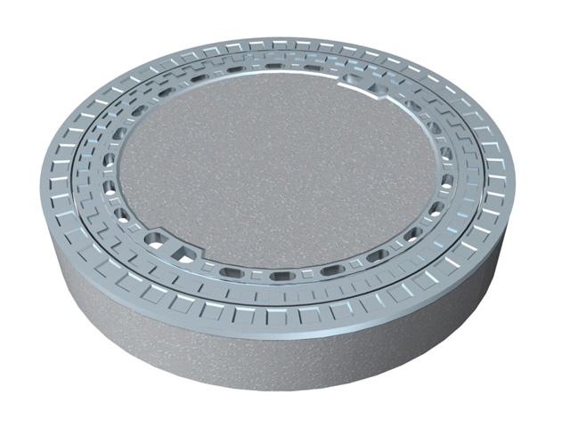 BeGu-Schachtabdeckung mit BeGu-Rahmen LW 600