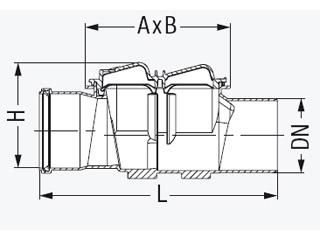 Grundkörper/Reinigungsrohr Staufix