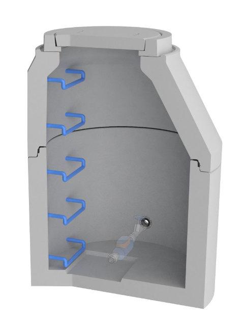 AQUA CLEAN ACWA Wasserzählerschacht ACWA-S