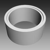 Fertigteile - Pumpschacht DN 1200 - Ring