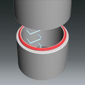 Fertigteile - Pumpschacht DN 1000 - Schachtringdichtung