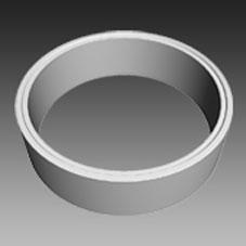 Fertigteile - Pumpschacht DN 2500 - Ring
