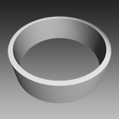 Fertigteile - Pumpschacht DN 3000 - Ring